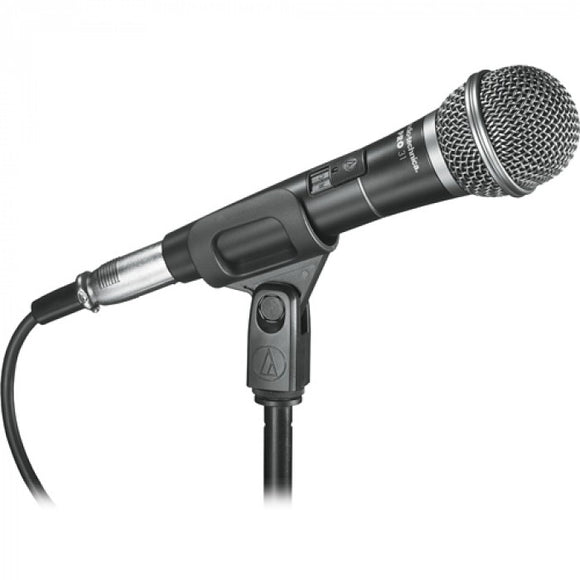 Audio-Technica Pro 31 Cardioid Dynamic Handheld Microphone with XLR to XLR Cable