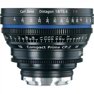 Zeiss Compact Prime CP.2 18mm F /3.6 T Interchangeable Mount Lens