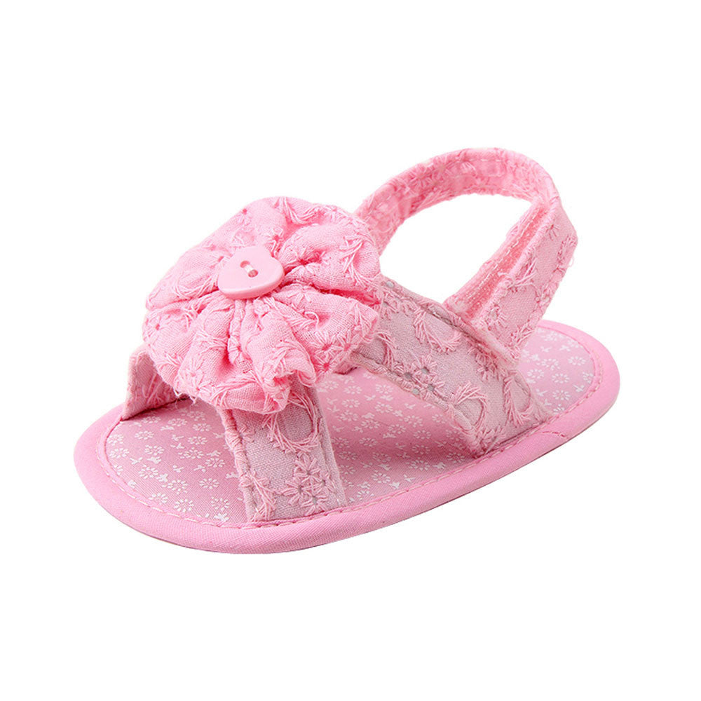 Baby Girls Shoes Flower Sandals Toddler Princess Girls Sandals