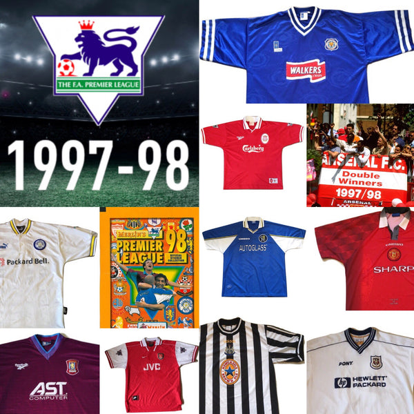 Shirts from that season: 1997/98