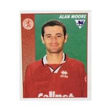 1996/97 Alan Moore Middlesbrough Merlin Football Sticker