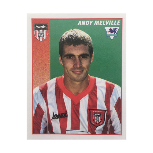 1996/97 Andy Melville Sunderland Merlin Football Sticker