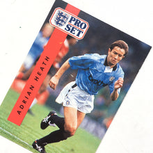 1990/91 Adrian Heath Manchester City Pro Set Trading Card