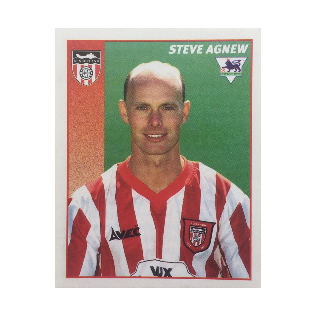 1996/97 Steve Agnew Sunderland Merlin Football Sticker