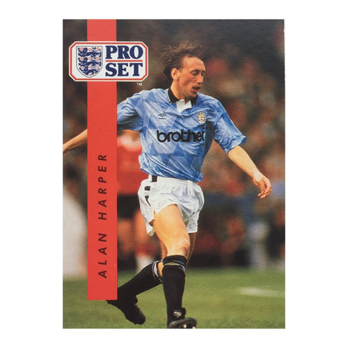 1990/91 Alan Harper Manchester City Pro Set Trading Card