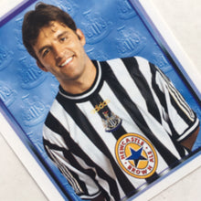 1997/98 Philippe Albert Newcastle United Merlin Football Sticker