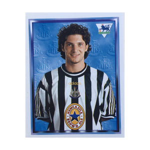 1997/98 Alessandro Pistone Newcastle United Merlin Football Sticker