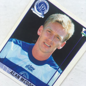 1995/96 Alan Mcdonald Queens Park Rangers Merlin Football Sticker