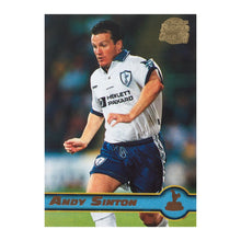 1998 Andy Sinton Tottenham Premier Gold Trading Card