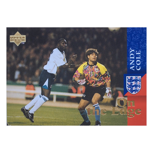 1998 Andy Cole England Upper Deck Trading Card