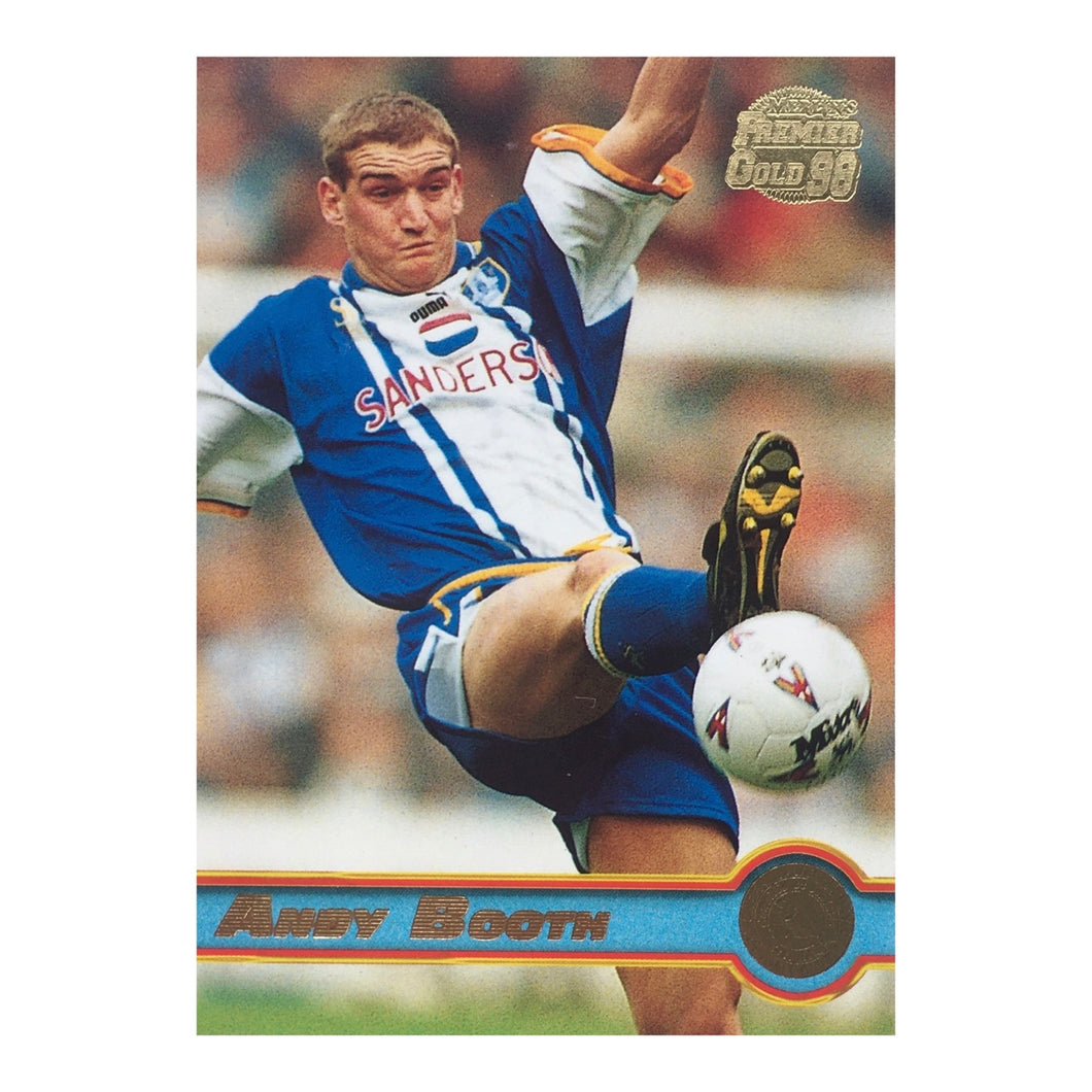 1998 Andy Booth Sheffield Wednesday Premier Gold Trading Card