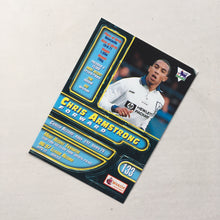 1998 Chris Armstrong Tottenham Premier Gold Trading Card