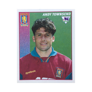1996/97 Andy Townsend Aston Villa Merlin Football Sticker