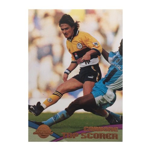 2000 Benito Carbone Sheffield Wednesday Premier Gold Trading Card