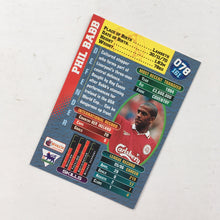1997 Phil Babb Liverpool Premier Gold Trading Card