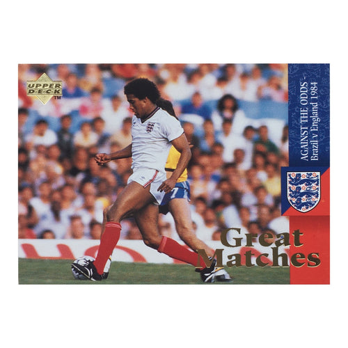 1984 England Great Matches Upper Deck Trading Card - 'Against The Odds'