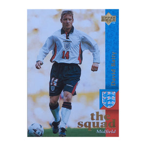 1998 David Batty England Upper Deck Trading Card