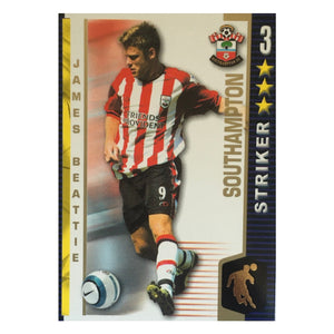 2004/05 James Beattie Southampton Shoot Out Trading Card