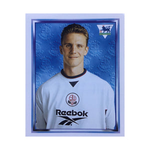 1997/98 Gudni Bergsson Bolton Wanderers Merlin Football Sticker