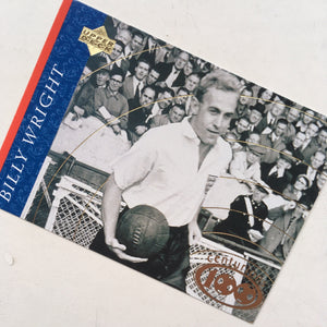 1946-59 Billy Wright England Upper Deck Trading Card