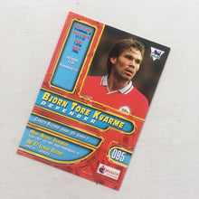 1998 Bjorn Tore Kvarme Liverpool Premier Gold Trading Card