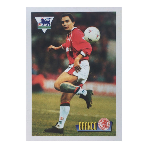 1996 Branco Middlesbrough Merlin Trading Card