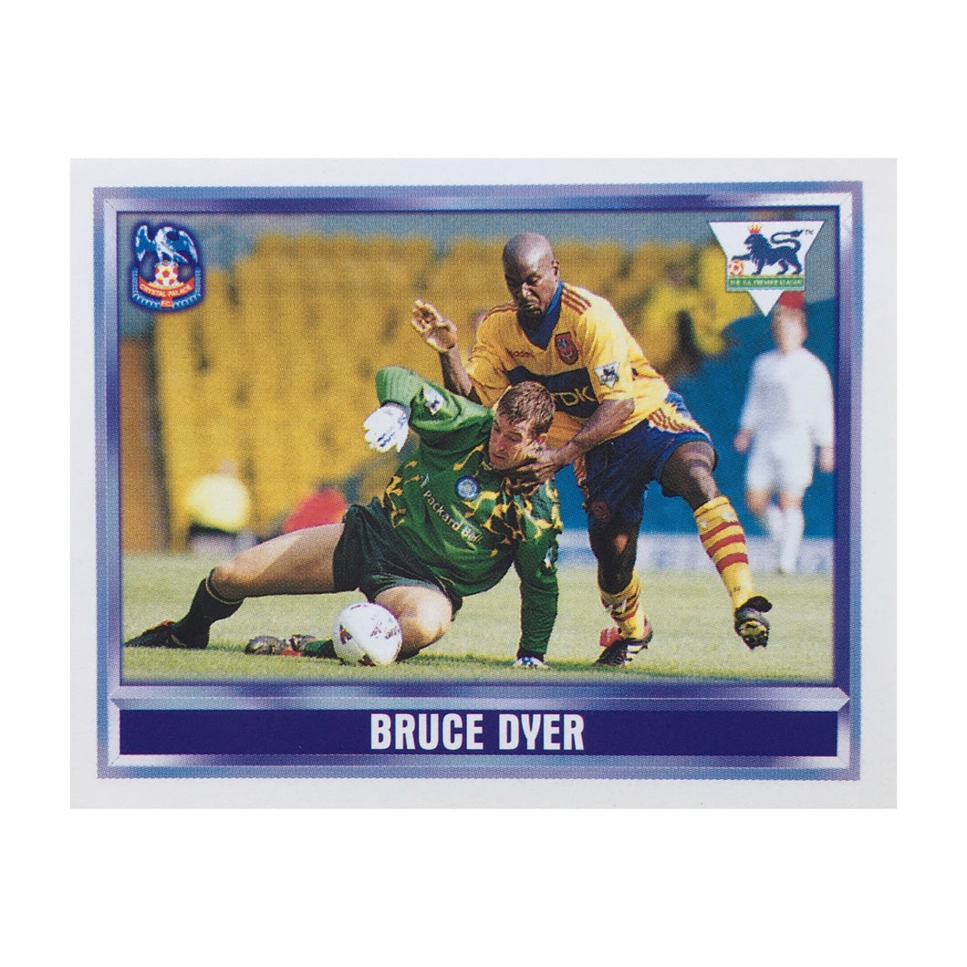 1997/98 Bruce Dyer Crystal Palace Merlin Football Sticker