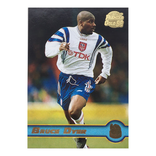 1998 Bruce Dyer Crystal Palace Premier Gold Trading Card