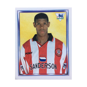 1997/98 Carlton Palmer Southampton Merlin Football Sticker