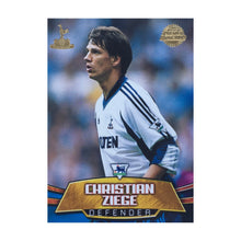 2001/02 Christian Ziege Tottenham Premier Gold Trading Card