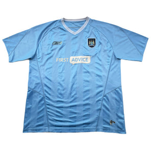 2003/04 Manchester City Home Shirt - XXL