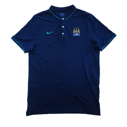 2015/16 Manchester City Training Polo Shirt - M