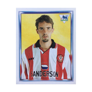 1997/98 Claus Lundekvam Southampton Merlin Football Sticker