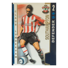 2004/05 Claus Lundekvam Southampton Shoot Out Trading Card