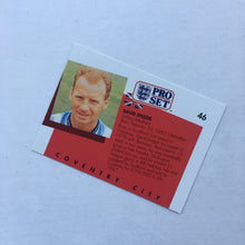 1990/91 David Speedie Coventry City Pro Set Trading Card