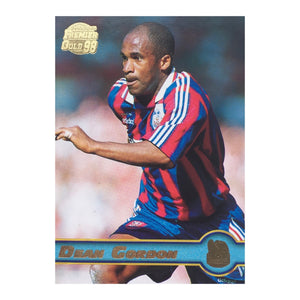 1998 Dean Gordon Crystal Palace Premier Gold Trading Card