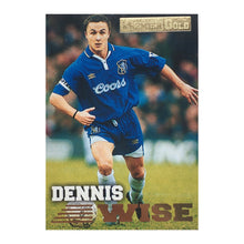 1997 Dennis Wise Chelsea Premier Gold Trading Card