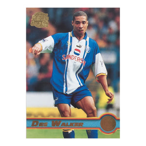 1998 Des Walker Sheffield Wednesday Premier Gold Trading Card