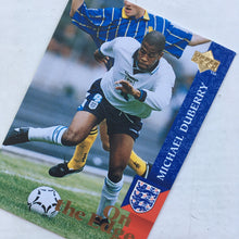1998 Michael Duberry England Upper Deck Trading Card
