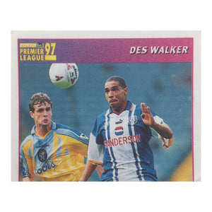 1996/97 Des Walker Sheffield Wednesday Merlin Football Sticker