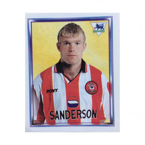 1997/98 Egil Ostenstad Southampton Merlin Football Sticker