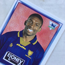 1997/98 Efan Ekoku Wimbledon Merlin Football Sticker