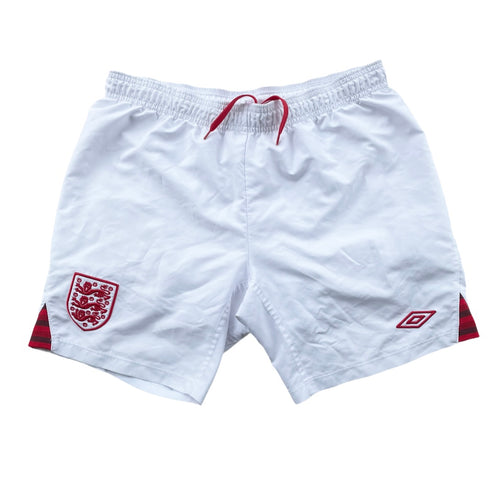 2012/13 England Home Shorts - XS (XLB)
