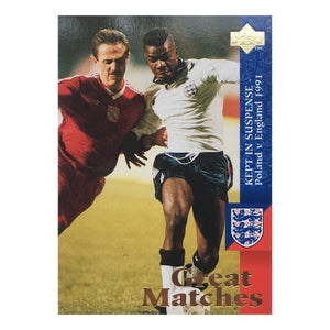 1991 England Great Matches Upper Deck Trading Card - 'Kept In Suspense'