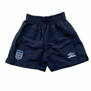 "1999/01 England Home Shorts BNWT - XS (24""/26"")"