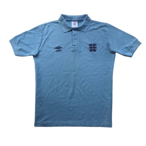 1986 England Training Polo Shirt - L