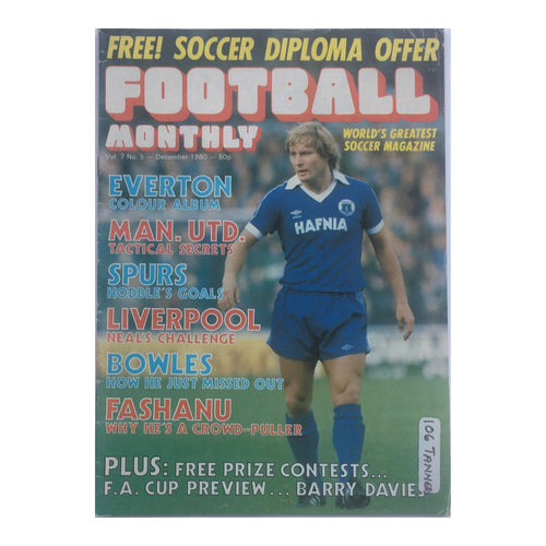 1980 Football Monthly Magazine