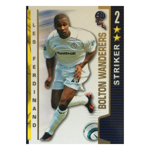 2004/05 Les Ferdinand Bolton Wanderers Shoot Out Trading Card