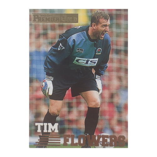 1997 Tim Flowers Blackburn Rovers Premier Gold Trading Card