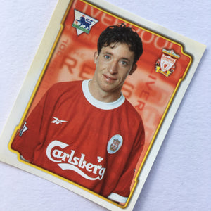 1998/99 Robbie Fowler Liverpool Merlin Football Sticker